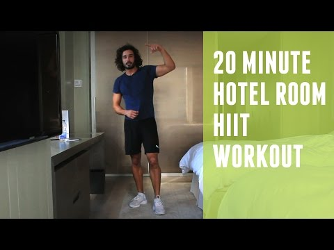 Fat Burning Hotel HIIT Workout | The Body Coach