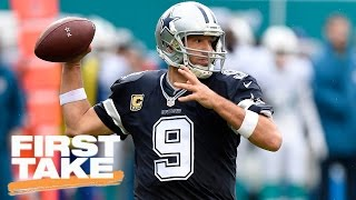 Is Tony Romo A Hall Of Famer? | First Take | April 5, 2017