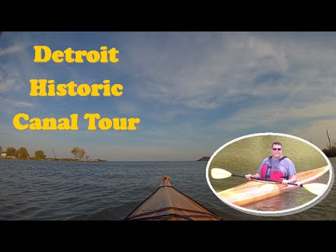 Detroit Historic Canal Tour 2014