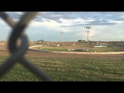 IMCA Modified heat race I-76 Speedway Part 1