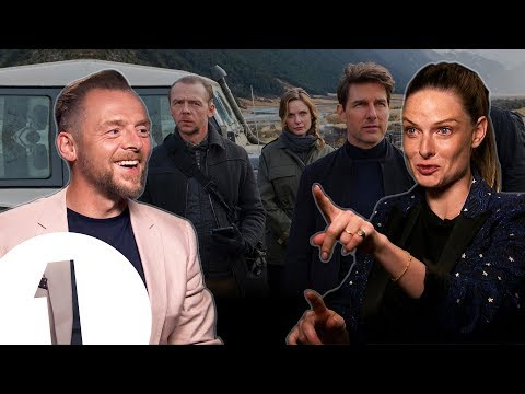 """""""We started without a screenplay!"""" Simon Pegg & Rebecca Ferguson on Mission: Impossible - Fallout."""