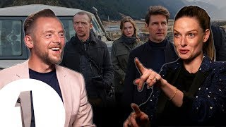 """We started without a screenplay!"" Simon Pegg & Rebecca Ferguson on Mission: Impossible - Fallout."