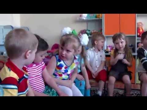 Один день в детском саду.
