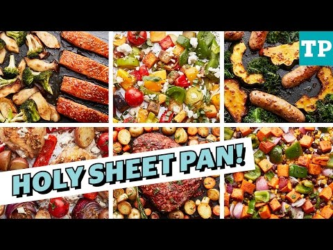 6 Crazy Easy Sheet Pan Dinner Recipes