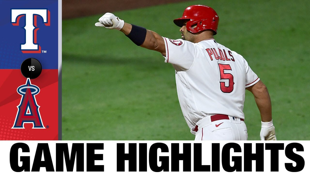 Albert Pujols makes history in the Angels' 5-2 win | Rangers-Angels Game Highlights 9/18/20