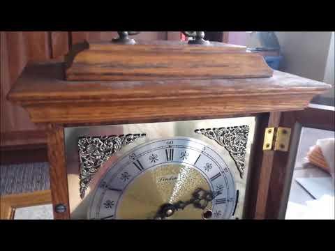 Linden Triple Chime Bracket Clock Unpackaging And Setup