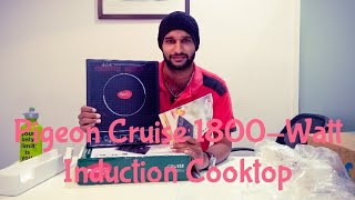 Unboxing Pigeon by Stovekraft Cruise 1800-Watt Induction Cooktop (Black)|Pigeon by Stovekraft Cruise