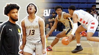 Gambar cover Josh Christopher vs Marcus Bagley w Marvin Watching! Las Vegas Elite vs MB3 Elite