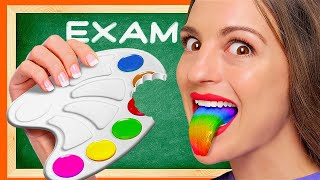 CANDY IN CLASS! || DIY Edible School Supplies To Prank Your Friends