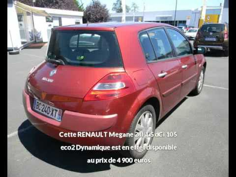 renault megane 2 ii 1 5 dci 105 eco2 dynamique albi une occasion autotransac youtube. Black Bedroom Furniture Sets. Home Design Ideas