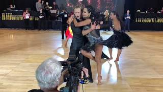 Marilyn with Oleg Astakhov - Pro/Am Ballroom dancing - Elite DanceSport 2018 Competition