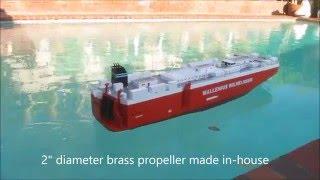 RORO ship model