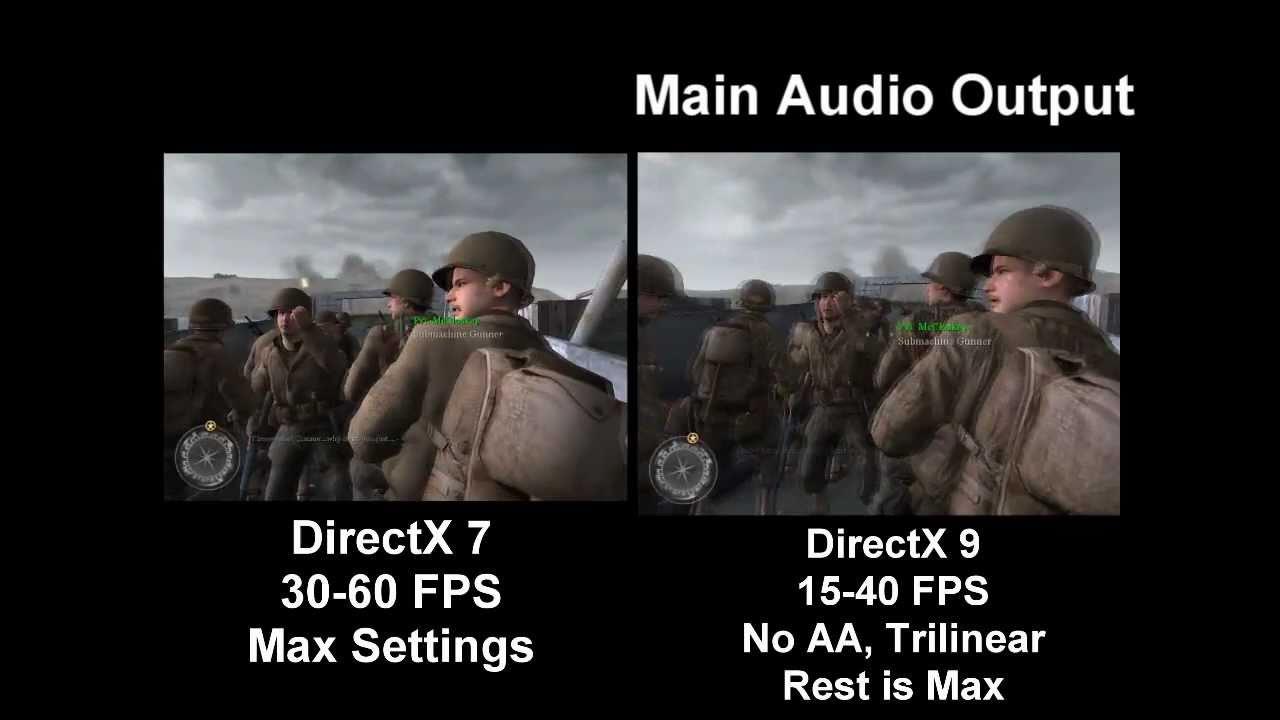 DirectX 9 or DirectX 11