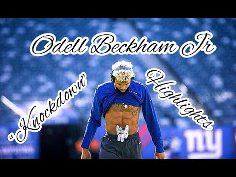 "Odell Beckham Career Highlights ""Knockdown"""