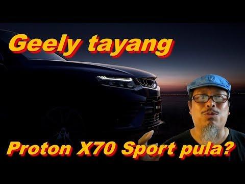 Geely Tayang FY-11, bakal jadi Proton X70 Sport? Mengancam. Kongsi platform Volvo XC40.