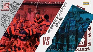 Royal College Vs Science College 1st XV Rugby Encounter - 2019