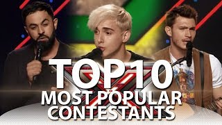 Download TOP-10 Most Popular X-Factor Contestants On YouTube Mp3 and Videos
