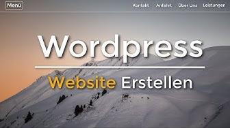 Wordpress Website Erstellen - (Neu) - Tutorial in 20 EINFACHEN Schritten | (Deutsch/German)