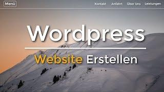 Wordpress Website Erstellen - Anfänger Tutorial | (Deutsch/German)