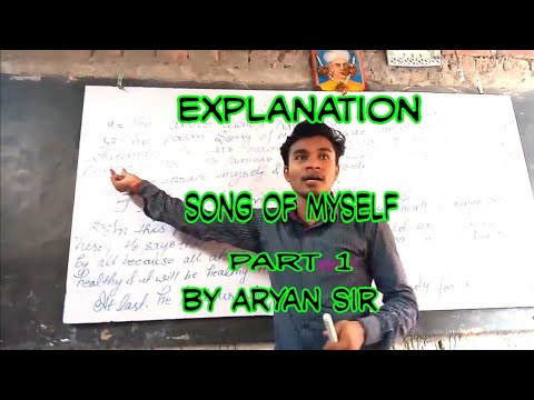 Explanation of Song of myself