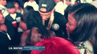 EXCLUSIVE BACKSTAGE SUMMER JAM 2014 FOOTAGE