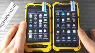 видео Обзор защищенного телефона Land Rover A8