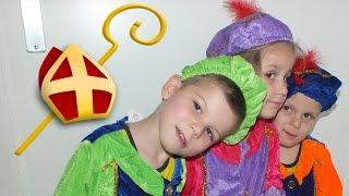 Vlog 119: Sinterklaas en Zwarte Piet in onze wijk!