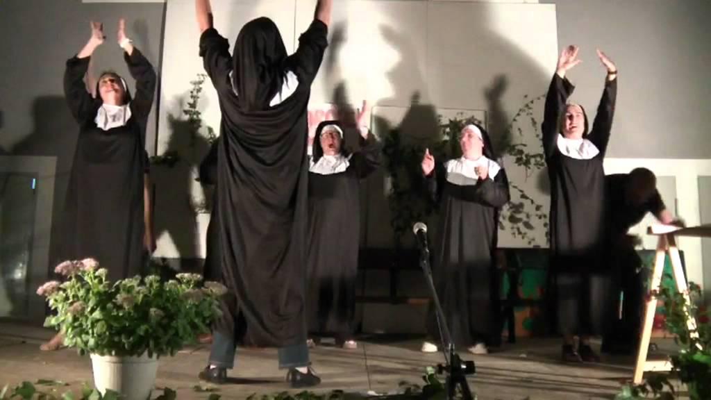 Show de monjas de las hermanas ortega en el vep - 1 part 4