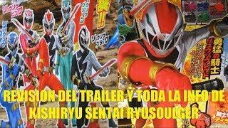 Revision del Trailer y Toda la Info de Kishiryu Sentai Ryusoulger Power Rangers 2020
