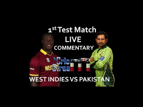 Live: Pakistan Vs West Indies 1st Test Match 2ND DAY - HD