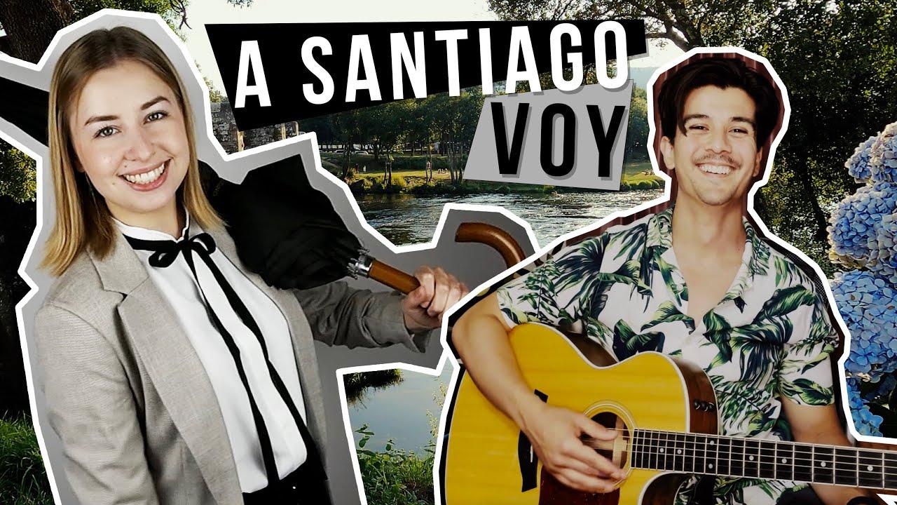 A Santiago Voy - Los Tamara (Cover)
