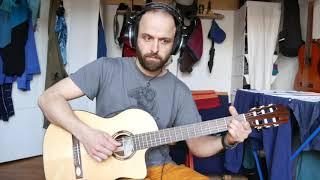 Alhambra,Takamine, Salvador Cortez- Nilon string guitar comparison