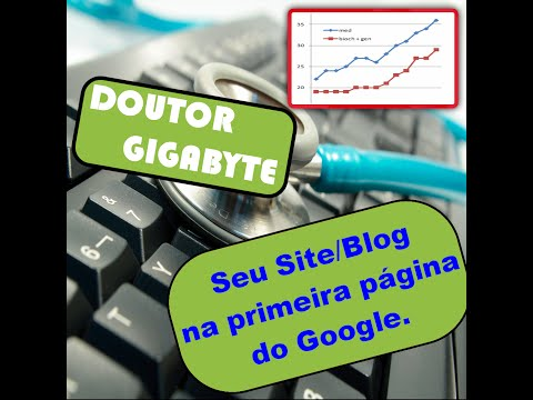 Deixando seu site ou blog na primeira página do google video 1