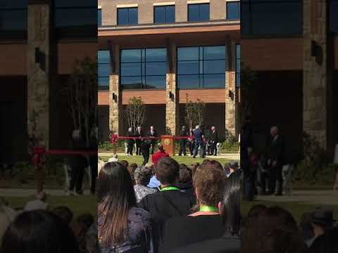 Governor Nathan Deal at Lanier Technical College Hall Campus Ribbon Cutting