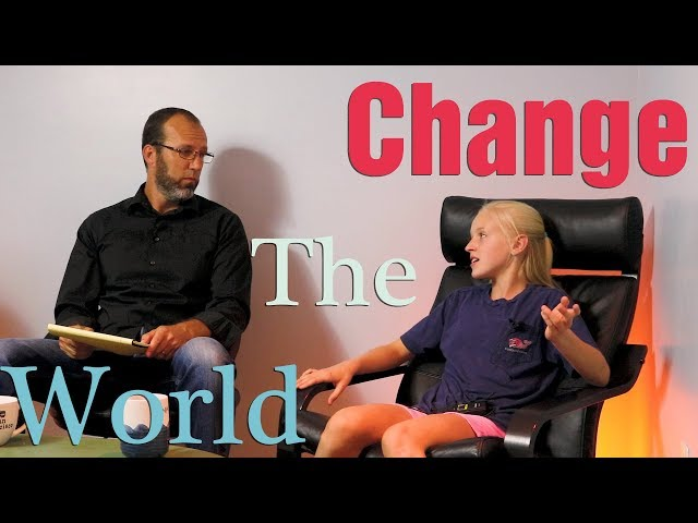 Interview With Addison Woosley- Change The World