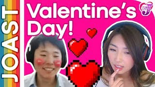 JOAST ???? Valentine's Day Special 2018 ❱ ???? 2018.02.14 ❱ EDITED DUAL CAM STREAM ❱ Janet Toast Meme