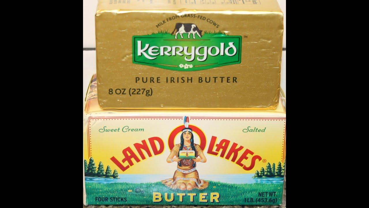 Kerrygold Butter vs Land O Lakes Butter Blind Taste Test
