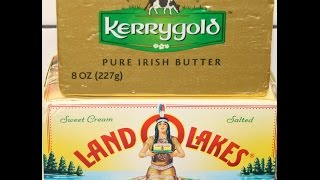 Kerrygold Butter vs Land O Lakes Butter Blind Taste Test