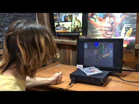 Angry Gamer Destroys PlayStation 2 and Crash Bandicoot