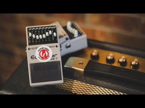 Alchemy Audio modified Boss GE-7 Equalizer EQ