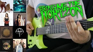 Bring Me The Horizon Guitar Riff Evolution (2004-2019 Guitar Riff Compilation)