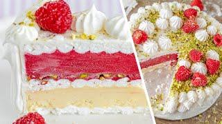 ТОРТ МОРОЖЕНОЕ | очень вкусный французский десерт Vacherin Glacé | простой рецепт
