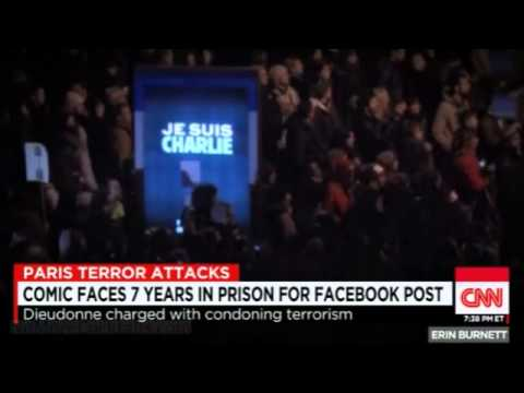 French Comic Dieudonne Faces 7 Years in Prison for Paris Attack Facebook Post