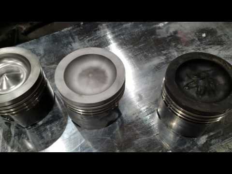 How to clean a piston