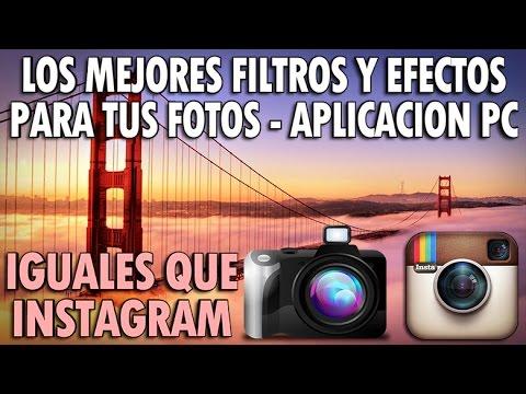 Los Mejores Efectos y Filtros Para Tus Fotos - Aplicación Gratuita ...