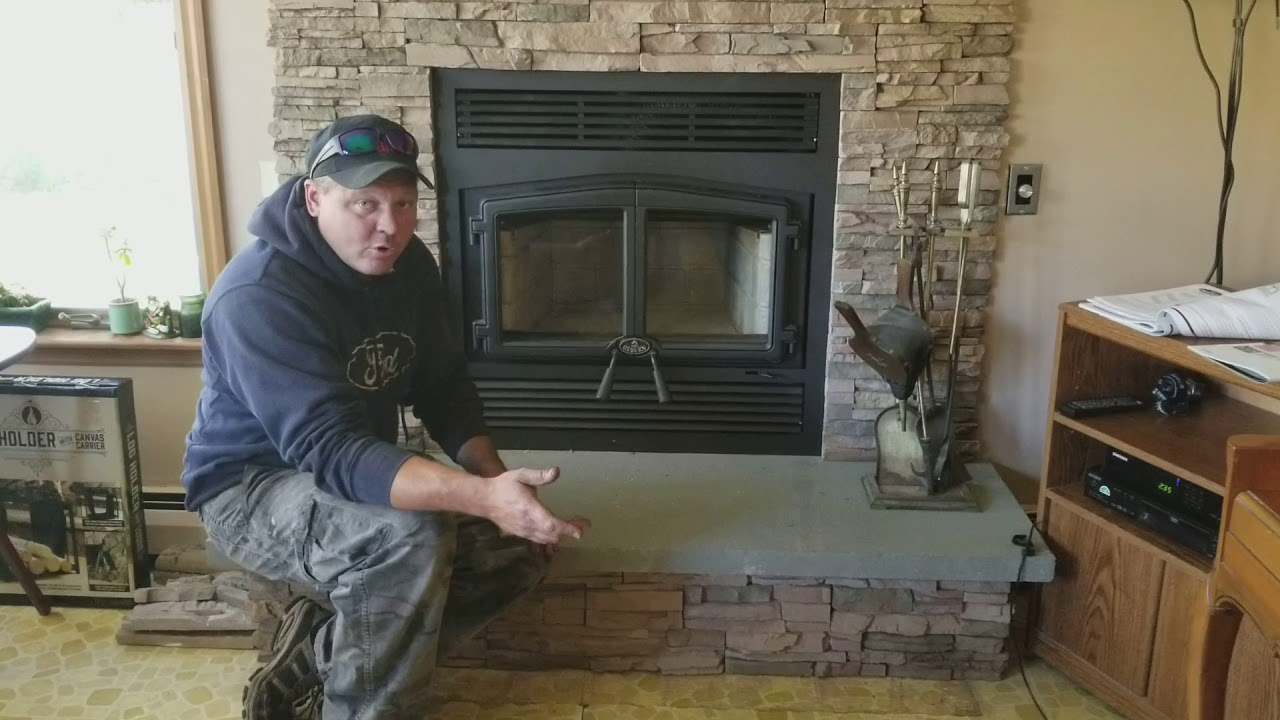 osburn stratford wood burning fireplace youtube