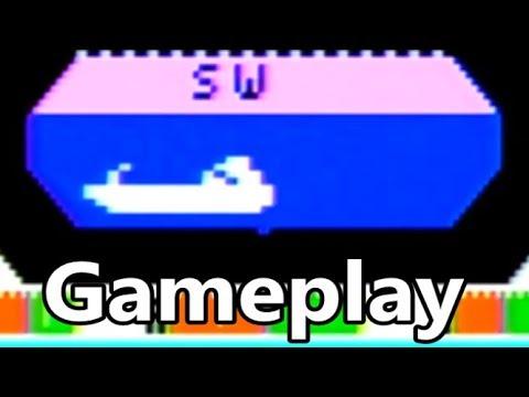 Sub Hunt Intellivision Gameplay