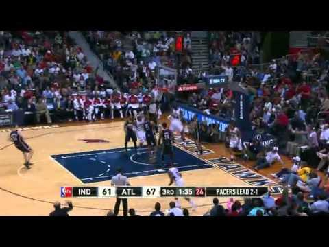 NBA Playoffs 2013: NBA Indiana Pacers Vs Atlanta Hawks Highlights April 29, 2013 Game 4