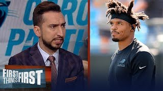 Nick Wright talks Panthers firing Ron Rivera & Cam's future in Carolina | NFL | FIRST THINGS FIRST