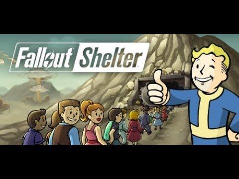 العيش تحت الارض Fallout Shelter #1